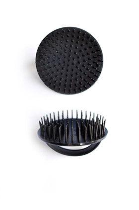 Bass Brush Palm Style Shampoo Brush A26