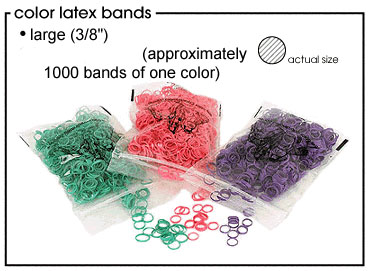 Large Medium Weight Latex Bands