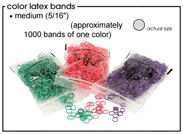 Medium Light Weight Latex Bands