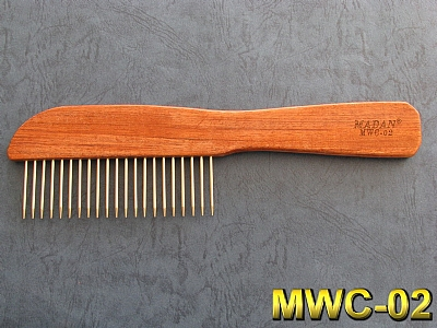 Rosewood Handle Comb MWC-02